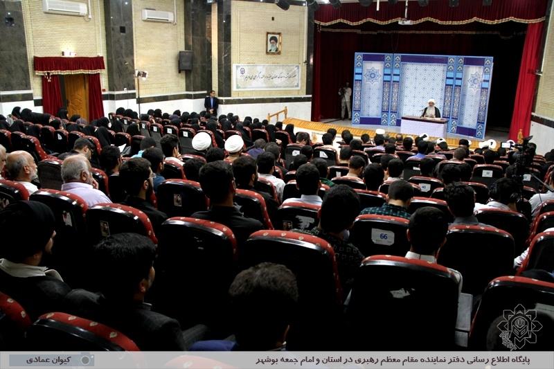 نخستین جلسه تفسیر قرآن کریم آیت الله صفایی بوشهری در سال تحصیلی جدید