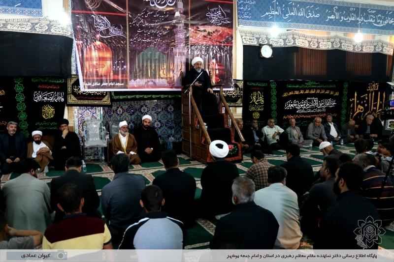 تجمع عزاداران اهل سنت و تشیع در جزیره شیف بوشهر برگزار شد