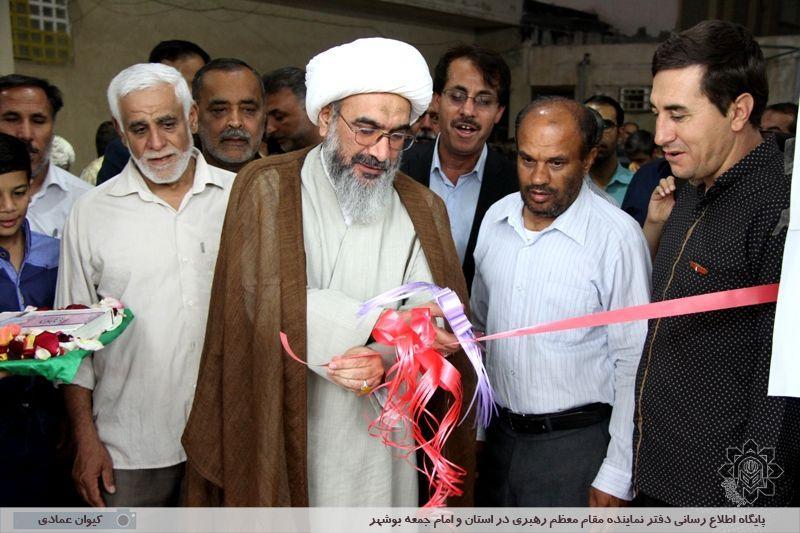 افتتاح ساختمان تازه تأسیس مسجد صاحب الزمان (عج) بهمنی