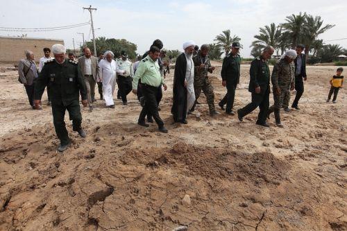 بازدید از مناطق سیل زده روستاهای شهرستان باوی خوزستان